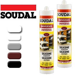 Soudal - Универсален силикон 300 мл