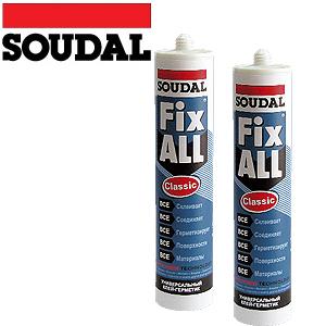 Soudal Fix All Classic - лепило уплътнител 290 мл.