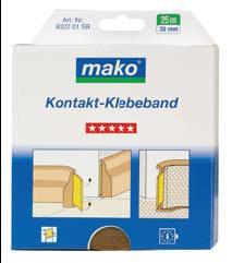 Mako Kontakt Kleberband -  Двойнолепещо тиксо, 25 m