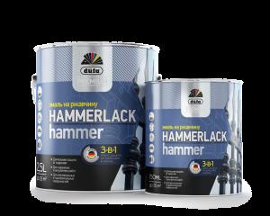 Dufa Premium Hammerlack HAMMER- лак за метал 3 в 1