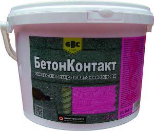 Бетон Контакт (Beton Contact) - контактен грунд за бетонови основи - 15 l